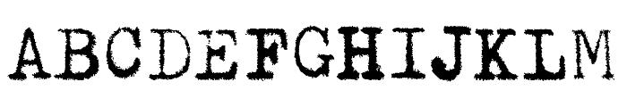 Pelkistettya todellisuutta Font UPPERCASE