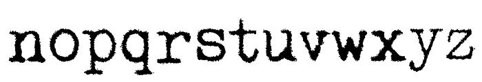 Pelkistettya todellisuutta Font LOWERCASE