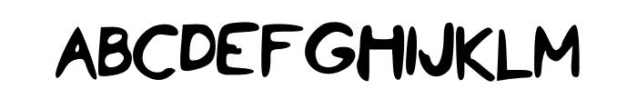 PenPineappleApplePen Font UPPERCASE