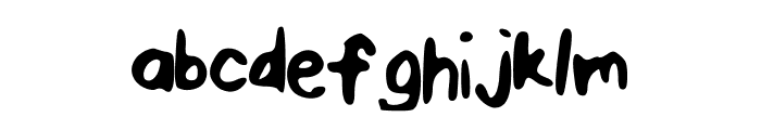 PenPineappleApplePen Font LOWERCASE