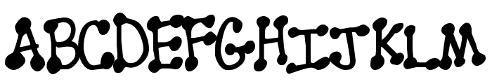 PenStitching Normal Font UPPERCASE