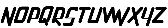 PenTagon-Italic Font UPPERCASE