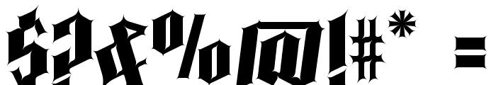 Pena Caldaria Font OTHER CHARS
