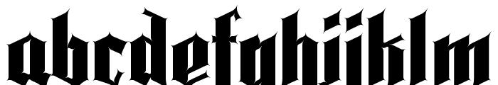 Pena Caldaria Font LOWERCASE