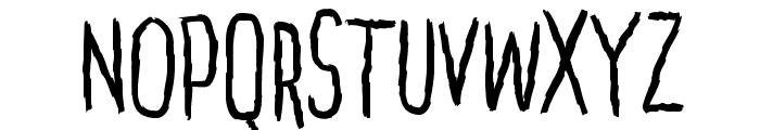 Penakut Normal Font LOWERCASE
