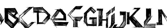 Penball Wizard Font UPPERCASE