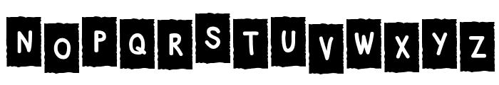 PencilBox Font UPPERCASE