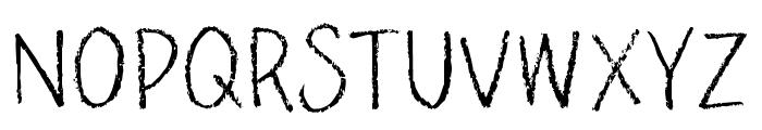 PencilPeteFONT Font UPPERCASE