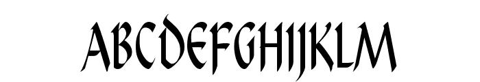 PendragonFLF Font UPPERCASE