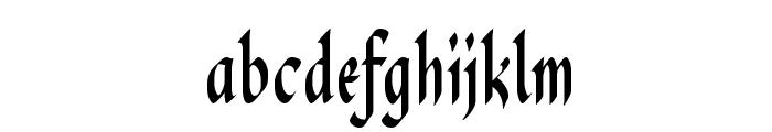 PendragonFLF Font LOWERCASE