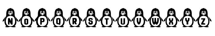 Penguins Regular Font UPPERCASE
