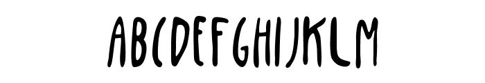 Penis Bold Font UPPERCASE