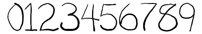 Penmanship: B- Font OTHER CHARS