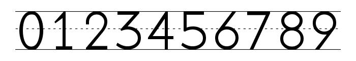 Penmanship Print Font OTHER CHARS