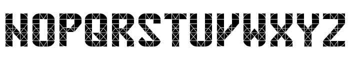Penn Station Font UPPERCASE