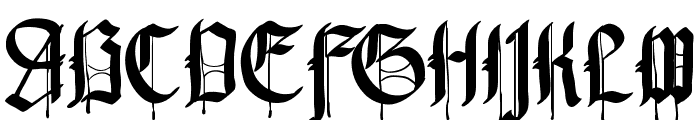 Pennybridge 1563 Font UPPERCASE