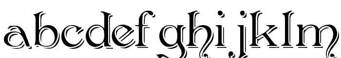 Penshurst_Shadow Font LOWERCASE