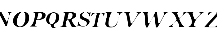 Pensmooth Font UPPERCASE