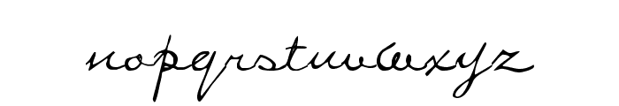Penstyle Font LOWERCASE