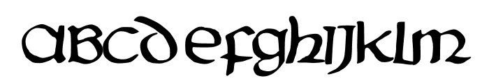 PentaGram s Aurra Regular Font UPPERCASE