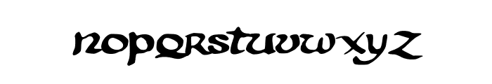 PentaGram s Aurra Regular Font LOWERCASE