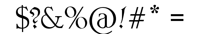 PentaGram s Callygraphy Font OTHER CHARS