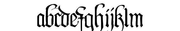 PentaGram s Callygraphy Font LOWERCASE
