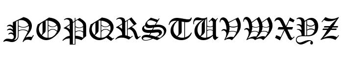 PentaGram s Gothika Bold Italic Font UPPERCASE