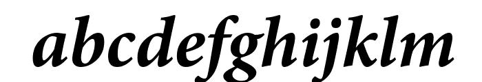 PentaGram s Gothika Bold Italic Font LOWERCASE