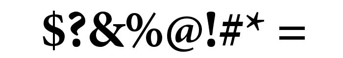 PentaGram s Gothika Bold Font OTHER CHARS