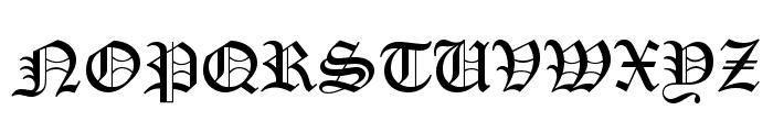 PentaGram s Gothika Bold Font UPPERCASE