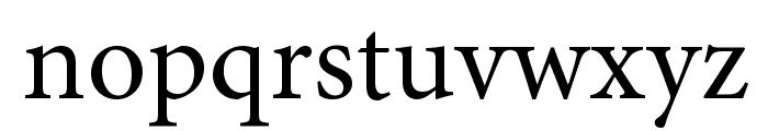 PentaGram s Gothika Regular Font LOWERCASE