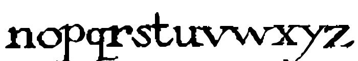 PentaGrams Stregherria Regular Font LOWERCASE