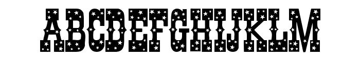 Pentagon Font UPPERCASE