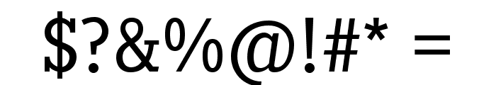 Pentay-Book Font OTHER CHARS