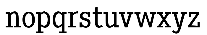 Pentay-Book Font LOWERCASE