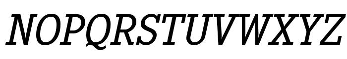 PentayBook-Italic Font UPPERCASE