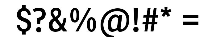 PentaySansReg Font OTHER CHARS