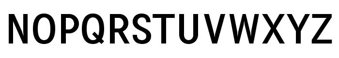 PentaySansReg Font UPPERCASE