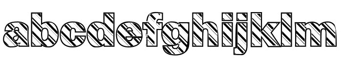 Pep O Mint Normal Font LOWERCASE