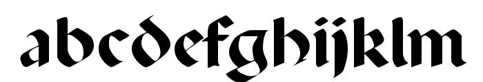 Percival Regular Font LOWERCASE