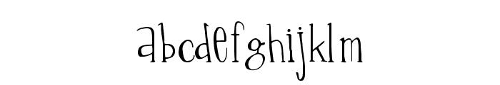 Percolation Font UPPERCASE
