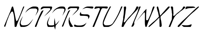Perdition Italic Font LOWERCASE