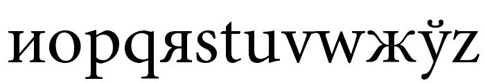 Perestroika Font LOWERCASE