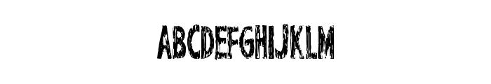 PerfectChisle Font UPPERCASE