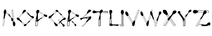 PerfectMatch Font UPPERCASE