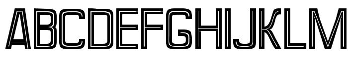 Perforama1.1 Font UPPERCASE