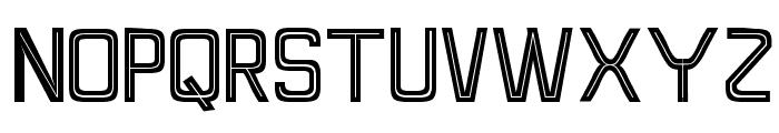 Perforama1.1 Font LOWERCASE