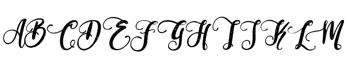Perfume Classic Demo Version Font UPPERCASE
