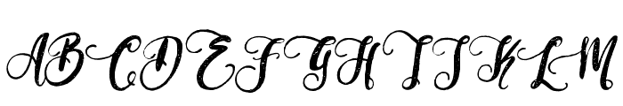 PerfumeClassicDemoVersion Font UPPERCASE